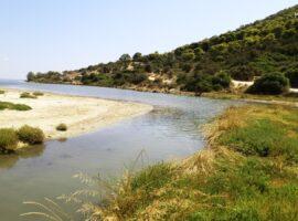 Ερασίνος ποταμός και Ρέμα Αγ. Γεωργίου στα Μεσόγεια