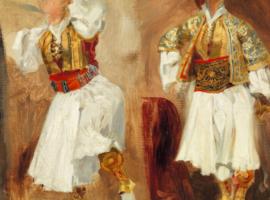 Στο Μουσείο Μπενάκη δύο σπουδαία έργα του Ντελακρουά