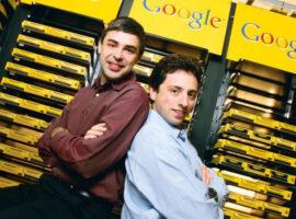 Λάρι Πέιτζ και Σεργκέι Μπριν: Οι δύο μεταπτυχιακοί του Στάνφορντ που δημιούργησαν τη Google.